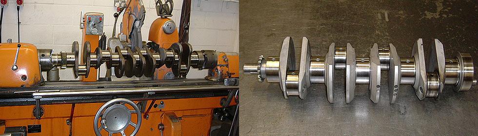 Crank Grinding & Polishing